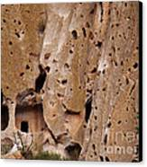 Bandelier Caves Canvas Print