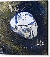 Barack Obama Pluto Canvas Print by Augusta Stylianou