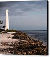 Barbers Point Lighthouse Canvas Print by Jason Bartimus