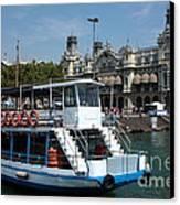 Barcelona Waterfront Canvas Print