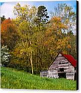 Barn Colors Canvas Print