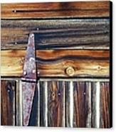 Barn Door Canvas Print by Wayne Sherriff