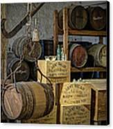 Barrels Canvas Print by James Barber