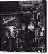 Bars On Broadway Nashville Canvas Print by Dan Sproul