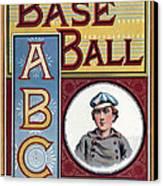 Baseball Abc Canvas Print by McLoughlin Bros