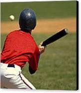 Baseball Batter Canvas Print