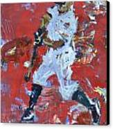 Baseball Painting Canvas Print