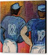 Baseball Team By Jrr  Canvas Print by First Star Art