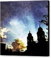 Basilica At Sunset Canvas Print