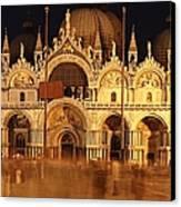 Basilica Di San Marco Canvas Print by George Buxbaum