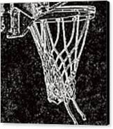 Basketball Years Canvas Print by Karol Livote