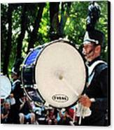 Bass Drums On Parade Canvas Print