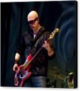 Bass  Guitar Canvas Print by Tony Reddington