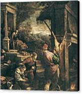 Bassano, Leandro 1557-1622. The Return Canvas Print