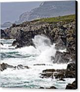 Battered Coast Canvas Print by Tony Reddington