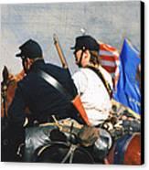 Battle Of Franklin - 2 Canvas Print