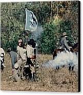 Battle Of Franklin - 3 Canvas Print by Kae Cheatham