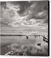 Bay Area Boats Canvas Print by Jon Glaser