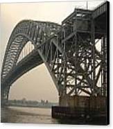 Bayonne Bridge Canvas Print by Wayne Gill