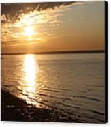 Bayville Sunset Canvas Print by John Telfer