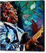 Bb King Canvas Print