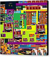 be a good friend to those who fear Hashem 13 Canvas Print