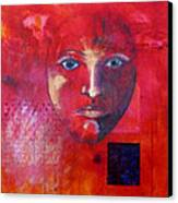 Be Golden Canvas Print by Nancy Merkle