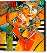 Be My Love Canvas Print by Jennifer Croom