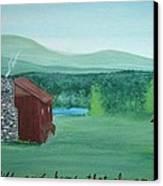 Be Still Canvas Print by Melanie Blankenship