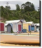 Beach Box Boat Canvas Print by Rachael Curry