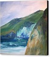 Beach California Canvas Print