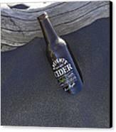 Beach Cider Canvas Print by David Yack