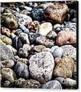 Beach Pebbles  Canvas Print by Elena Elisseeva