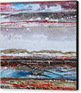 Beach Rhythms And Textures IIi Canvas Print by Mike   Bell