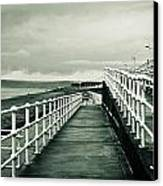 Beach Walkway Canvas Print by Tom Gowanlock