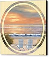Beach World Canvas Print