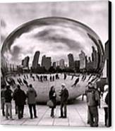 Bean Stalking Canvas Print by Peter Chilelli