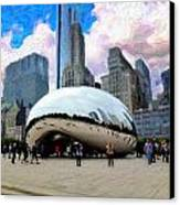 Bean There Canvas Print by Cary Shapiro