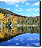 Bear Lake Reflection Canvas Print by Tranquil Light  Photography
