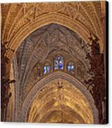 Beautiful Arches Of Seville Cathedral Canvas Print by Viacheslav Savitskiy