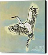 Beautiful Bird Painting Unique Cool Flying Bird Something Blue Sky Best Art For Kids Room Decoration Canvas Print