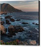 Beautiful California Coast In Spring Canvas Print by Mike Reid