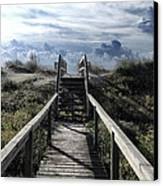 Beautiful Day At Cape Hatteras Canvas Print by Patricia Januszkiewicz