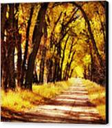 Beautiful Fall Day In Nebraska Canvas Print