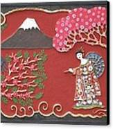 Beautiful Japan Canvas Print by Otil Rotcod