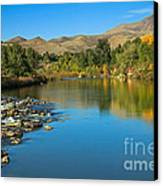 Beautiful Payette River Canvas Print by Robert Bales