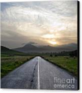 Beautiful Road Canvas Print by Boon Mee