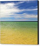 Beautiful St George Island Water Canvas Print by Holden Parker
