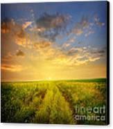 Beautiful Sunsets Photos Canvas Print