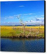 Beautiful View Topsail Island Canvas Print
